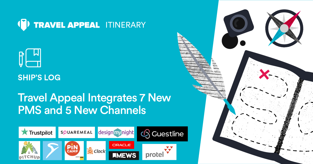 Travel Appeal Integrates 7 New PMS and 5 New Channels