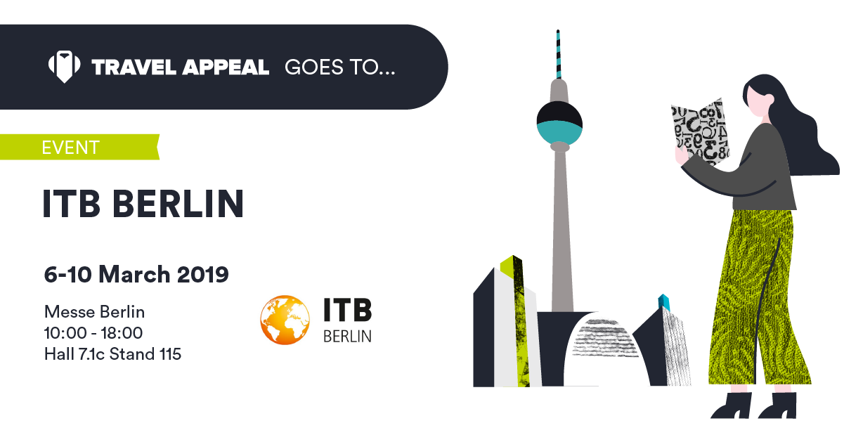 Travel Appeal is going to ITB Berlin!