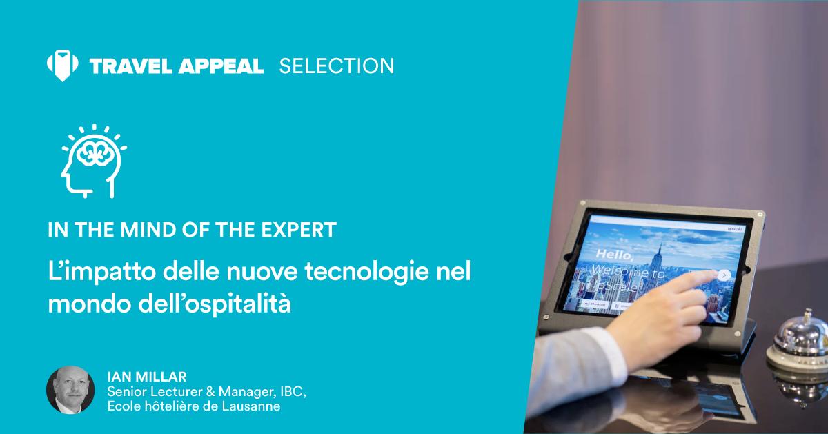 L'impatto delle nuove tecnologie nel settore dell'ospitalità