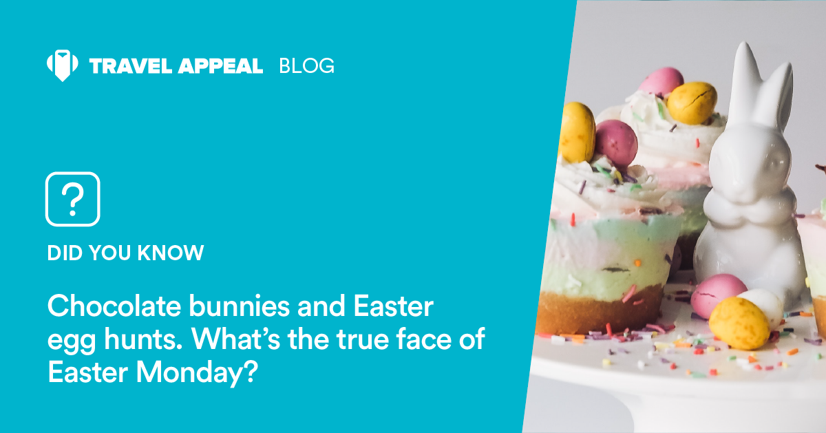 Chocolate bunnies and Easter egg hunts. What's the true face of Easter Monday?