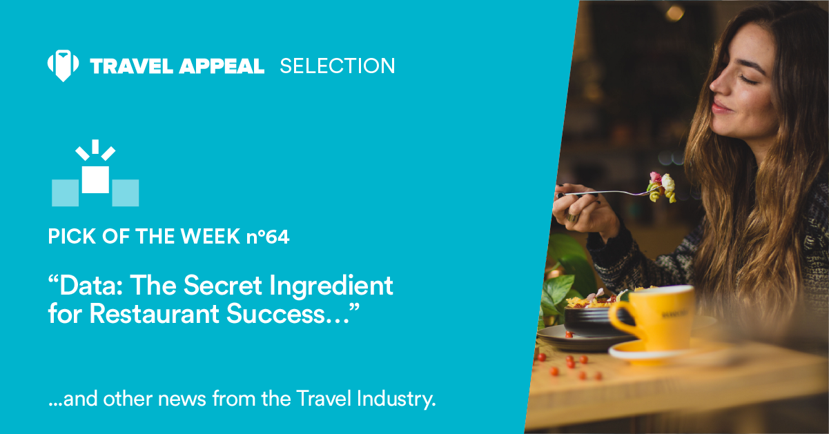 Pick of the Week 64 - Data: the secret ingredient for a restaurant's success