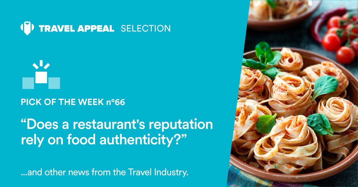 Pick of the Week 66 - Does a restaurant's reputation rely on food authenticity?