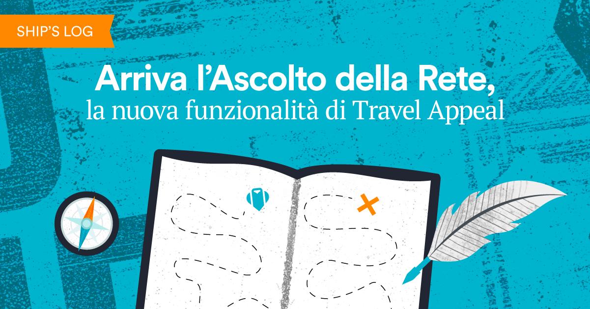 Arriva l'Ascolto della Rete, la nuova funzionalità di Travel Appeal