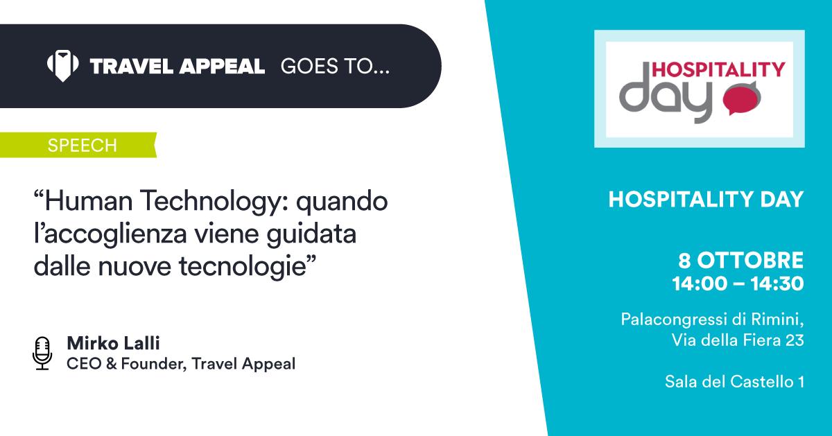 Hospitality Day 2019: la Human Technology cambierà per sempre il mondo alberghiero