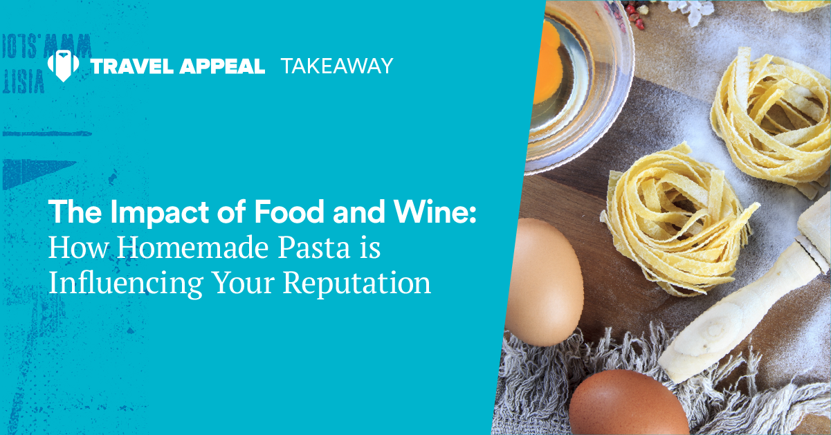 Takeaway - The impact of food and wine