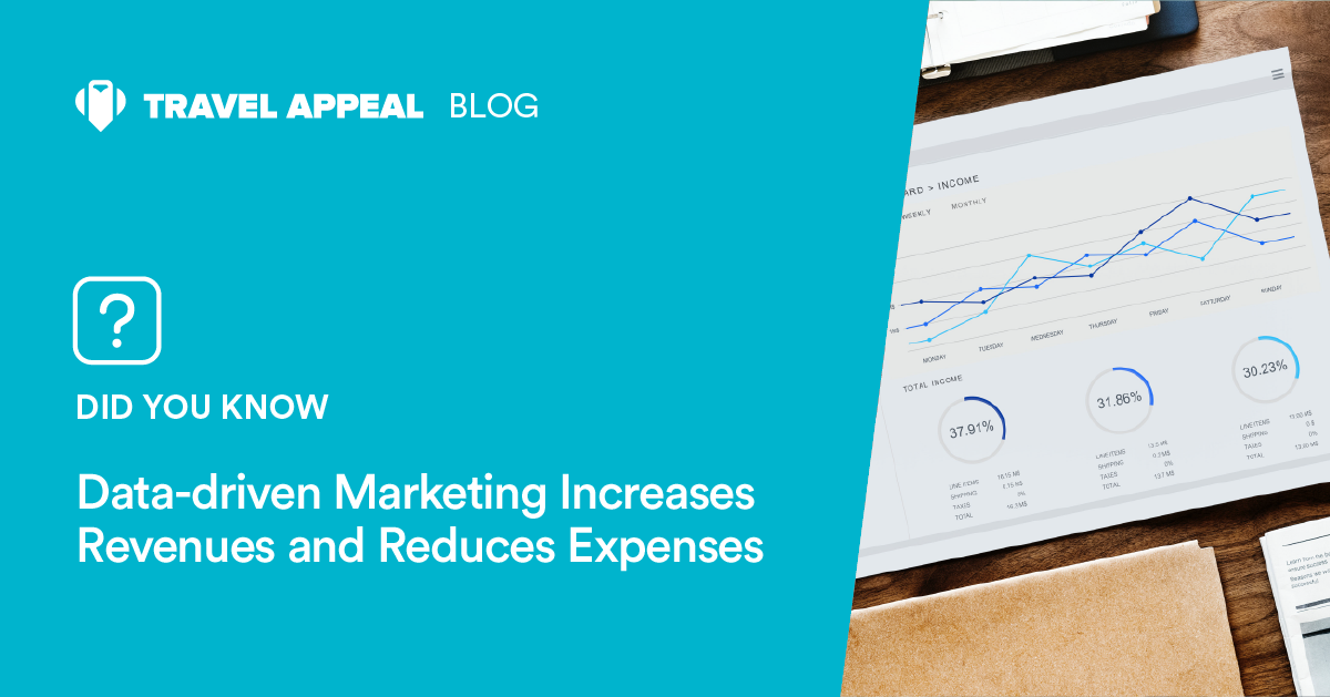 Data-driven Marketing Increases Revenues and Reduces Expenses