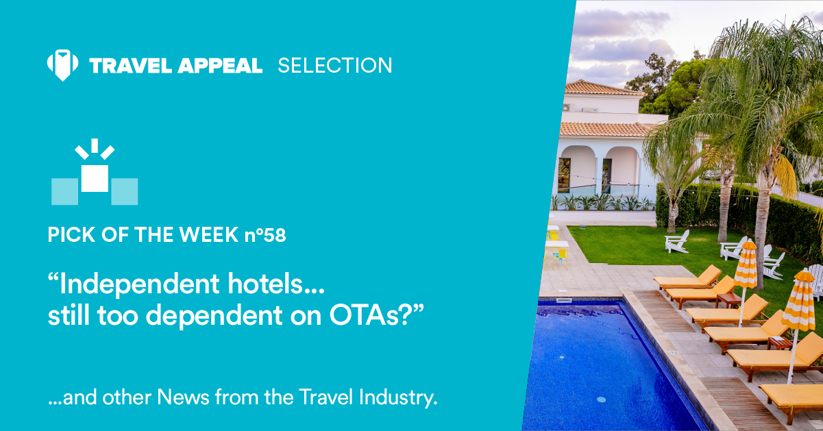 Independent hotels... still too dependent on OTAs?