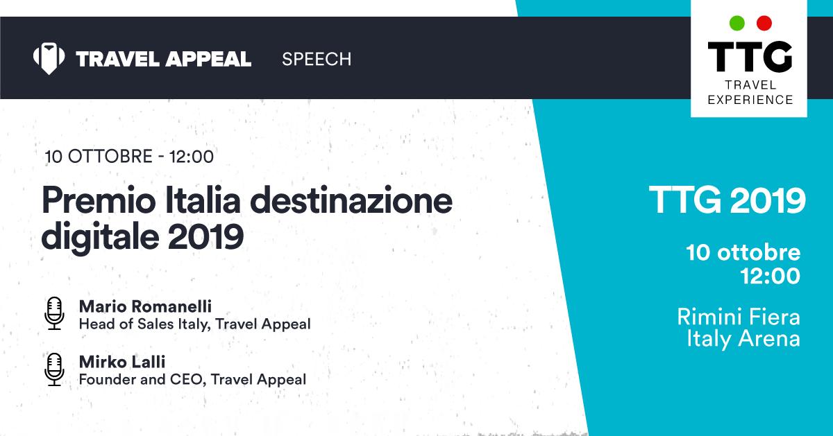 Regioni che brillano online: Italia Destinazione Digitale le premia a TTG 2019