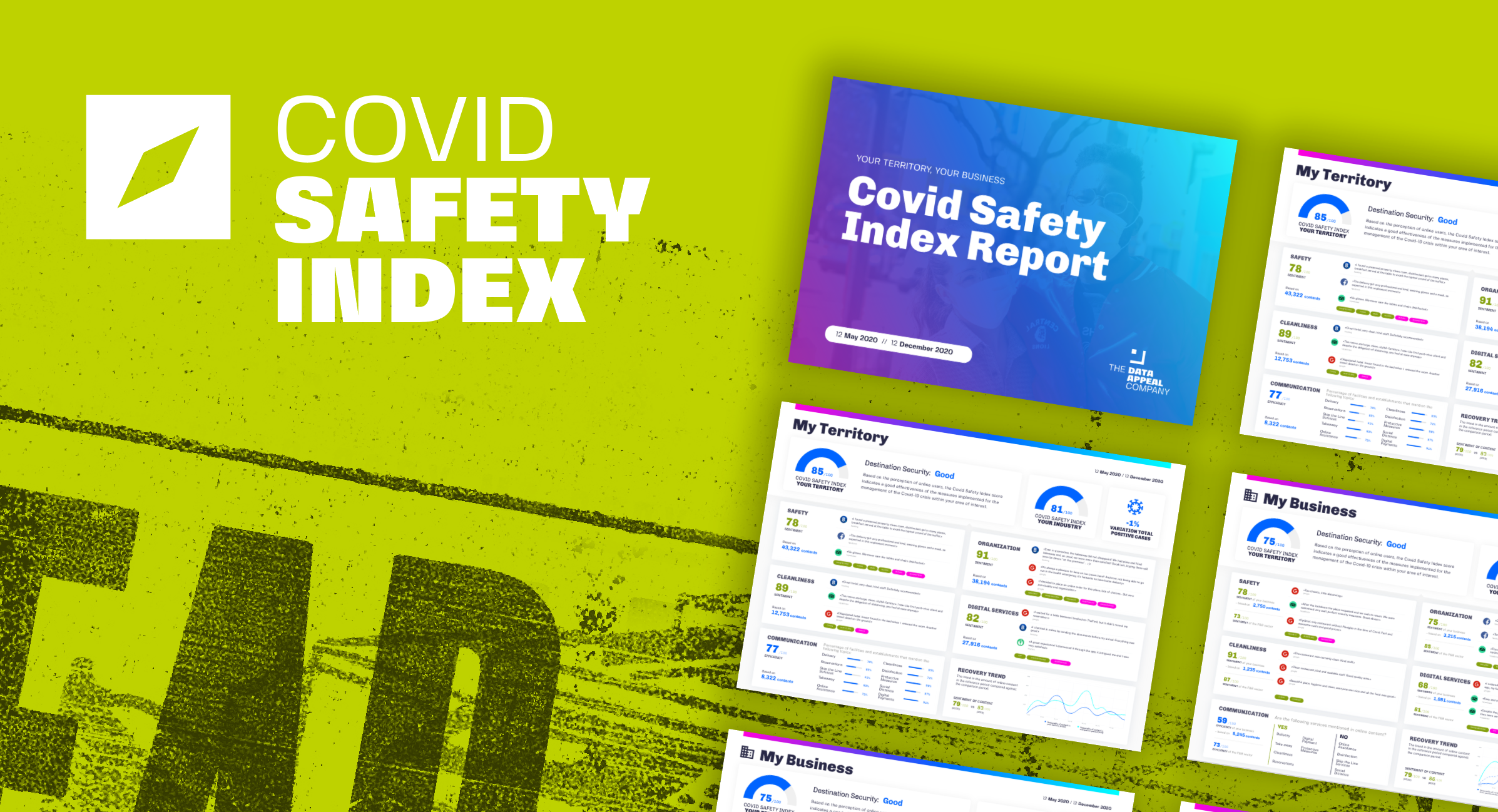 The Covid Safety Index: Navigating through uncertainty
